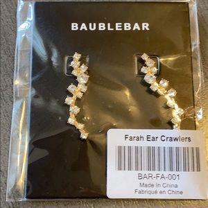 BaubleBar Farah Ear Crawlers Brand New